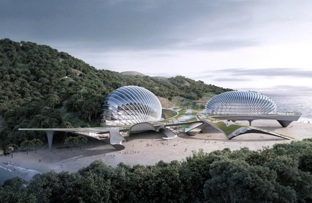 Hotel Nudibranch - A new eco-friendly landmark among sandy bays